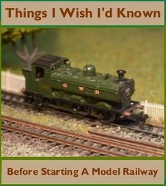 Building a model railway is fun, challenging and rewarding but it's easy to make mistakes and overlook things when starting.Here'swhat I wish I'd known before and what I've learnt after building many different gauge railways. #1Look At The Size Of That Thing Me, when starting my first model railway as a adult:I had big railways …