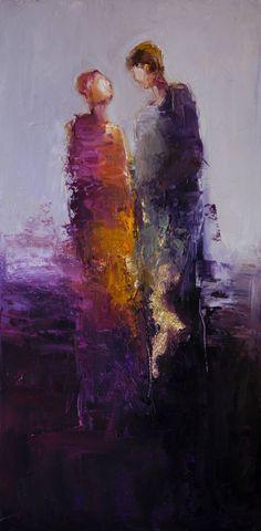 American Artist Shelby McQuilkin - Lovers