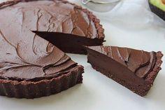 Raw Chocolate Fudge Tart (7)
