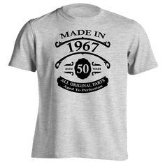 50th Birthday T Shirt Mens