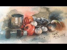Watercolor Lesson - how to paint Watercolor on the spot by Prashant Sarkar in timelaps. Camlin artist Watercolor and chitrapat handmade paper 300 GSM, rough . Watercolor Portrait Painting, Watercolor Paintings, Watercolor Lesson, Art Tutorials, Painting Tutorials, Persian Blue, Speed Paint, Watercolour Tutorials, Plein Air