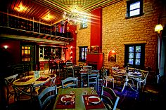 Obtain Many Visitors with Traditional Restaurant Design Ideas - Home Decorating Ideas Restaurant Design, The Good Place, Greek, House Design, Traditional, Boutique Hotels, Terraces, Hospitality, Postcards