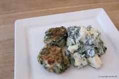 EGOSHE.dk - En madblog med South Beach opskrifter og andet godt...: Kyllingedeller med yoghurtsalat