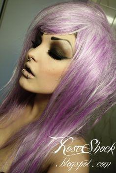 Scene makeup tutorial + KKCenterHK wig & lashes