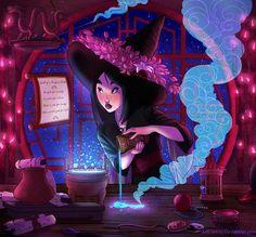 Witchsona: Mulan by ArtCrawl.deviantart.com on @DeviantArt