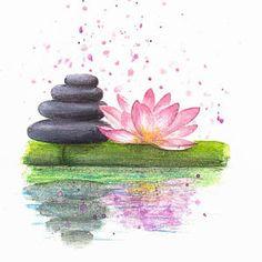 Crystal lotus flower healing reiki feng shui gift boxed pink lotus flower home decor feng shui decor namaste painting mothers day from daughter mightylinksfo