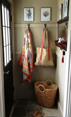 loft & cottage: {end of} summer entryway refresh