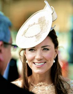 The Duchess of Cambridge attended a garden party at Buckingham Palace, June 10th, 2014.
