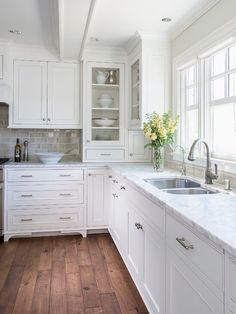 Layout like our kitchen. Like cabinets, lighting and molding