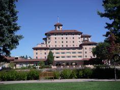Broadmoor Hotel, Colorado Springs.