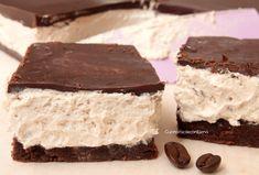 barrette con crema di caffè e cioccolato