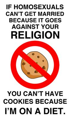 If same-sex marriage is against your religion . - So True - Religion Frases Lgbt, Lgbt Quotes, Lgbt Memes, Funny Quotes, Equality Quotes, Funny Memes, Lgbt Love, Faith In Humanity, Lesbian Love
