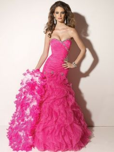 2012 Style Ball-Gown Sweetheart Beading Sleeveless Floor-length Organza Prom Dress / Evening Dress  Item Code: D002794  Listing price: $161.10	    Now $144.99