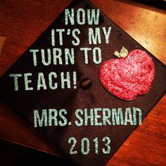 Graduation caps for teachers!