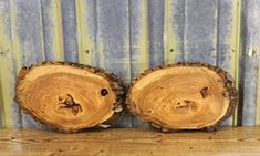 $64.95  - 2 Natural Edge Oval Cut Ash ClockfaceCenterpiece Log Slices T 1 116 W 8 38 L 12 78  1244912450 >>> See this great product. (This is an affiliate link) #BuildingSupplies