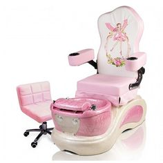 child pedicure chair that converts to a twin bed 25 best kid images manicure spa kids pink pixie 1290 https www ebuynails com