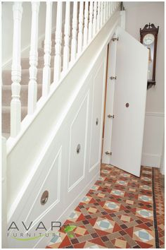 Briliant Design Under Stair Cupboard Doors Traditional Style - Your Home Design (shared via SlingPic)