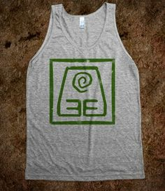 Earth Bender tank top