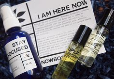 Here & Now Botanicals I Am Here Now, Aromatherapy, Vodka Bottle, Lifestyle Blog, Vancouver, Fashion Beauty, Personal Care, Health, Self Care