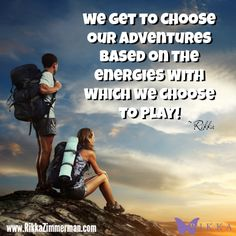 Life is a choose your own adventure story. What energy would you like to play in right now?