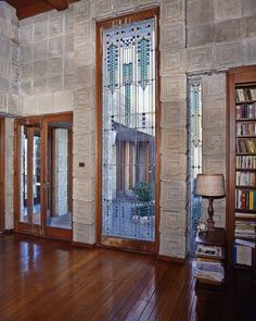Ennis House. 1924. Los Angeles, California. Frank Lloyd Wright Textile Block Period.