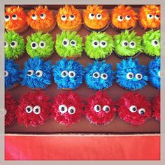 monster cupcakes. These are adorable!!