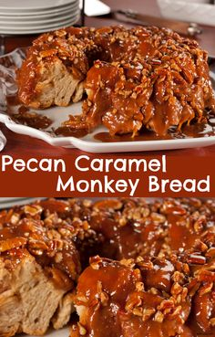 Ooey-gooey doesn't even begin to describe the deliciously sticky taste of this Pecan Caramel Monkey Bread!