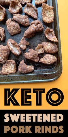 Add a little cinnamon and sugar-free sweetener to pork rinds and suddenly youve got an addictive zero carb Keto snack. Add a little cinnamon and sugar-free sweetener to pork rinds and suddenly youve got an addictive zero carb Keto snack. Keto Foods, Foods To Eat, Ketogenic Recipes, Keto Snacks, Snack Recipes, Dessert Recipes, Ketogenic Diet, Keto Sweet Snacks, Diabetic Foods
