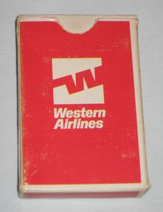 Western Airlines' cards