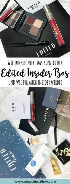Kennt ihr schon die EDITED Insider Box? Die EDITED Insider Box ist keine Beauty Box im herkömmlichen Sinne. Klickt hier um mehr (auch etwas kritisch) zu dem Konzept dahinter der EDITED Insider Box zu erfahren und auch, wie ihr selbst EDITED Insider werden könnt.