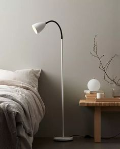 317536-Belid-Trotsig-Gulvlampe-Hvit_m Designer, Lighting, Home Decor, Lily, Scandinavian Design, Floor Lamp Base, Metal, Sweden, Bedroom