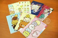 boutique kawaii shop chezfee mini folder chemise plastique 3pochettes sanx authentique1