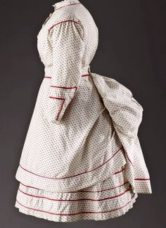 Child's Dress with bustle