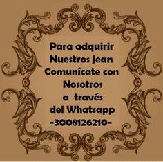 Comunicate con nosotros, tenemos la ultima tendencia en jean para dama.. info 3008126210 #Bykulterjean #Moda #Fashion #Style #Look #Bykulter #Jeans