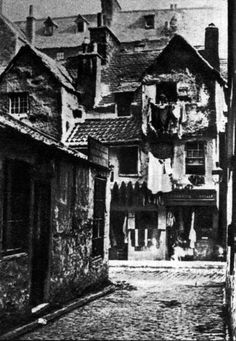 The Cowgate slums of Edinburgh, home to James Connolly in his youth.
