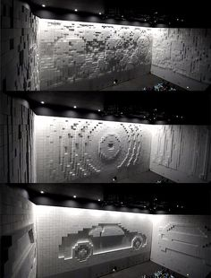 Collect this idea Transforming incredible engineering solutions into art installations and efficient advertising ideas- this is what Korean interactive artist JônPaSang managed to do with the help of the Hyper-Matrix Cube Wall. Especially envisioned for a memorable show by Hyundai Motor Group at the 2012 Yeosu EXPO exhibition, this unusual installation consists of mechanized white 30cm …