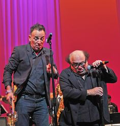 Bruce Springsteen Photos Photos: Annual New Jersey Hall Of Fame Induction Ceremony - Show Danny Devito, E Street Band, Bruce Springsteen, New Jersey, Boss, Performing Arts, Photos, Touch, Friends