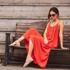 "fcc1852807 Largo Drive on Instagram: ""Hello Friday! This @9seed dress is major vibes  right now 💁🏼 ♀ 📸: @aaron_haxton 💃🏼: @zoka015 💄: @suziekbeauty"""