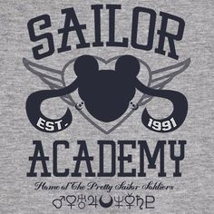Sailor Academy T-Shirt - Sailor Moon T-Shirt is $12.99 today at Pop Up Tee!