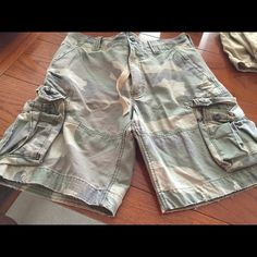 Camouflage shorts. Never worn.   Size 16 young men's  NEW Abercrombie & Fitch Shorts