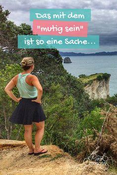 Zum Reisen allein als Frau eine große Portion Mut, oder? #mut #frauenreisensolo