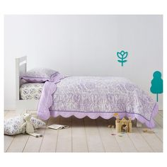 Birds Scalloped Edge Bedding Collection - Pillowfort™™ : Target