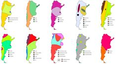 10 ways to divide Argentina - Vivid Maps