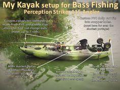 Fishing From Your Kayak? Here Is Some Gear You Might Need – Fishing Genius Kayak Bass Fishing, Gone Fishing, Fishing Stuff, Kayaking Gear, Whitewater Kayaking, Canoeing, Canoe Trip, Canoe And Kayak, Jackson Kayak