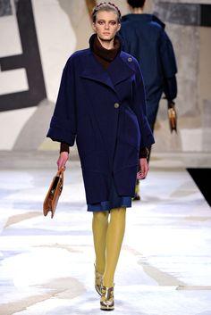 Fendi Fall 2011 Ready-to-Wear Fashion Show - Sigrid Agren