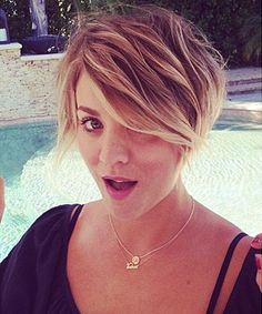 New Hair 2014: See Celebrity Hair Makeovers! - Kaley Cuoco from #InStyle