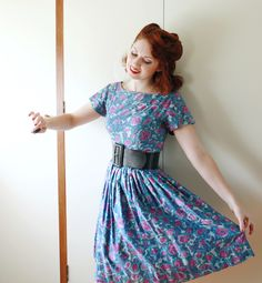 I'll take her hair and the vintage watercolor dress, please.