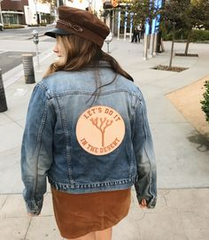 Custom Wedding Patch by Understated Leather Kanken Backpack, Custom Made, Denim, Leather, Jackets, Wedding, Fashion, Down Jackets, Valentines Day Weddings