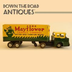 Marx Tin Mayflower Moving Van