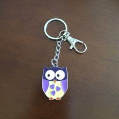 Owl keychain Owl keychain, pics of front and back Accessories